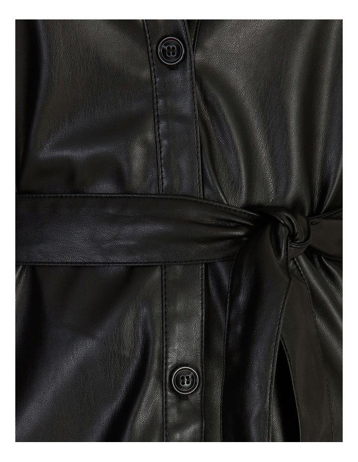 Vegan Leather Shirt image 6