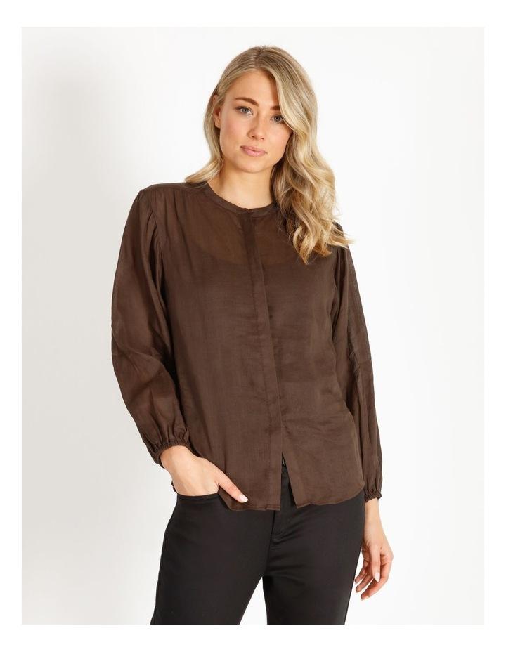 Rami Puff Sleeve Shirt image 1