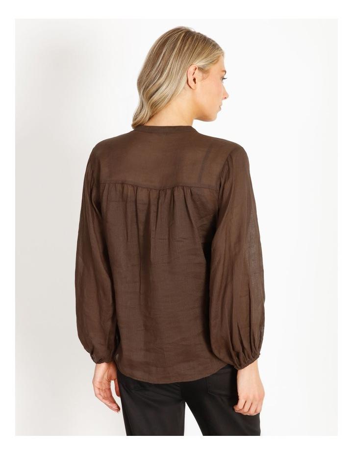 Rami Puff Sleeve Shirt image 3