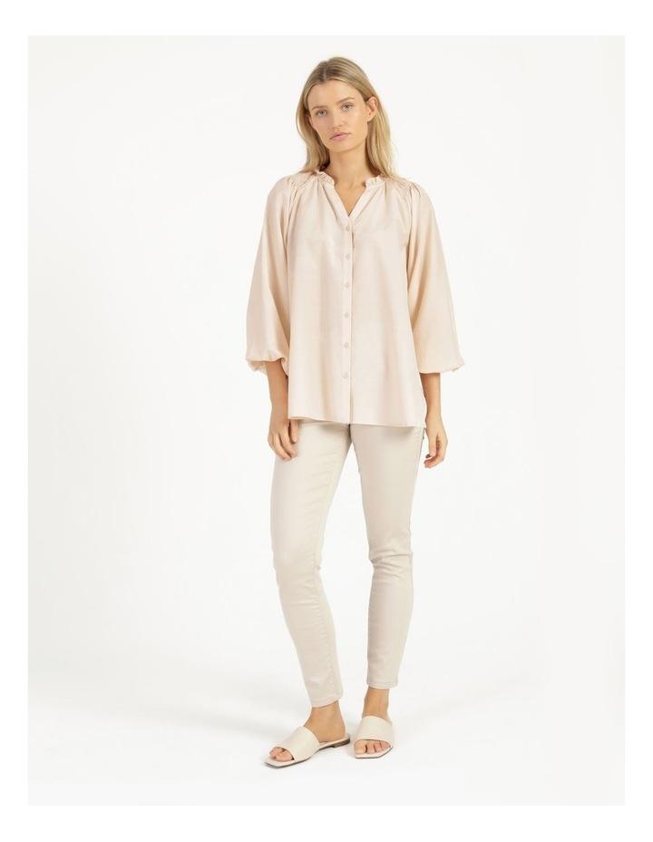 Shirred Shoulder Raglan Shirt image 1