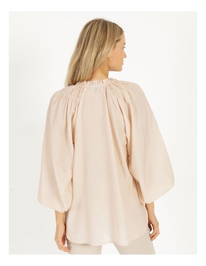 Shirred Shoulder Raglan Shirt image 5