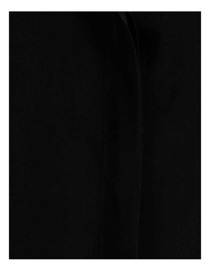 Frill Sleeve Shirt Black image 7