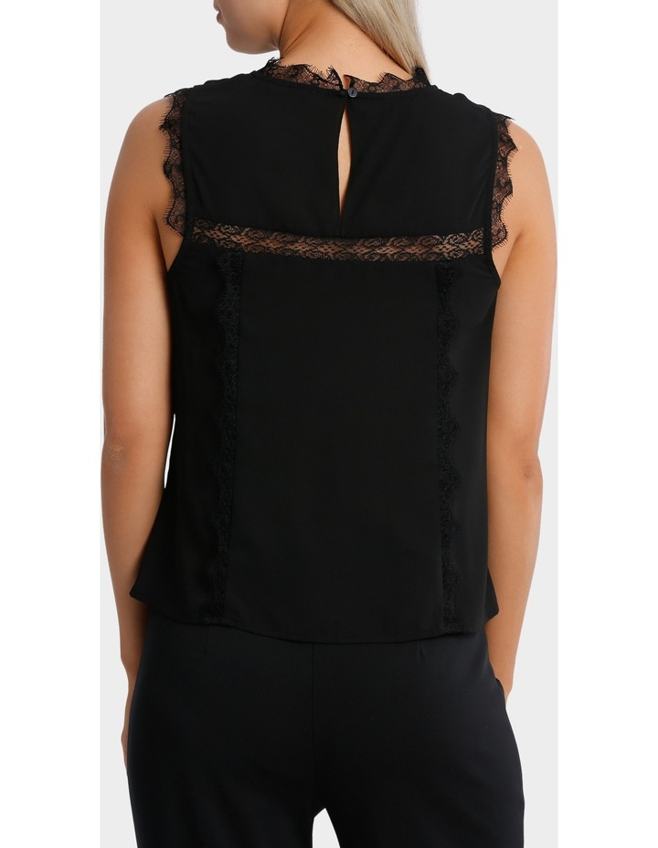 Lace Insert Shell Top image 3
