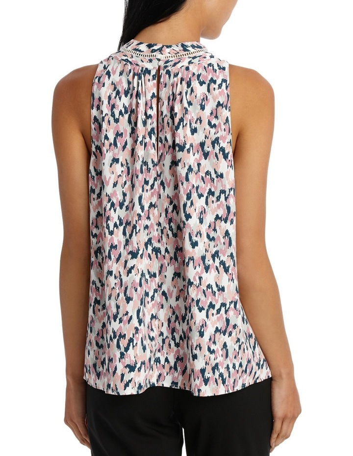 High Neck S/Less Floaty Top image 3