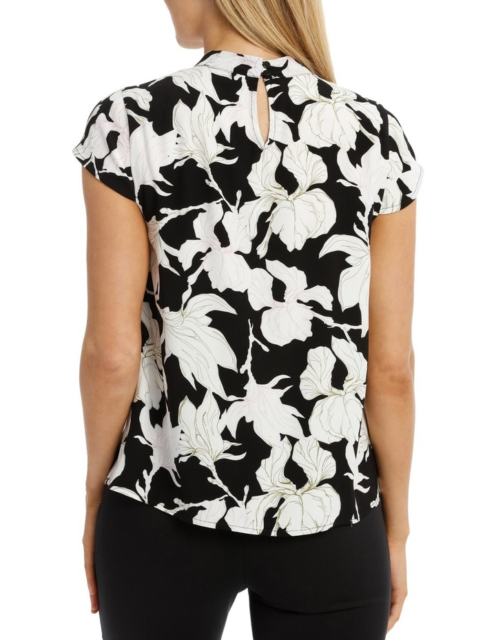 Printed High Neck Top image 3