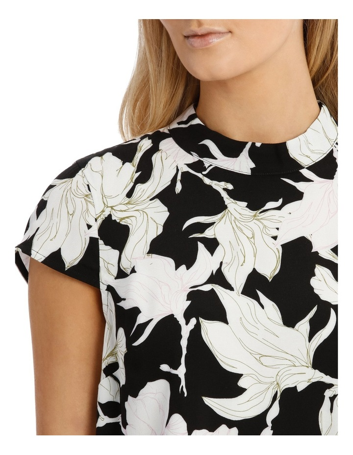 Printed High Neck Top image 4