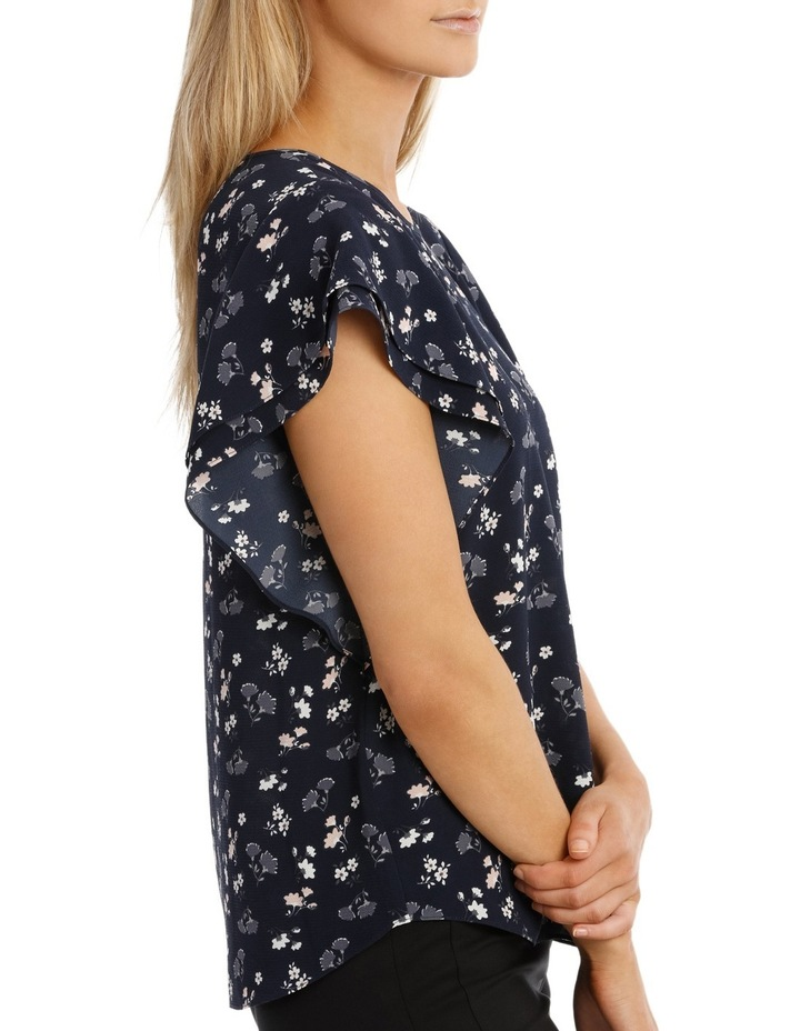 Must Have Double Flutter Sleeve Top Print image 2