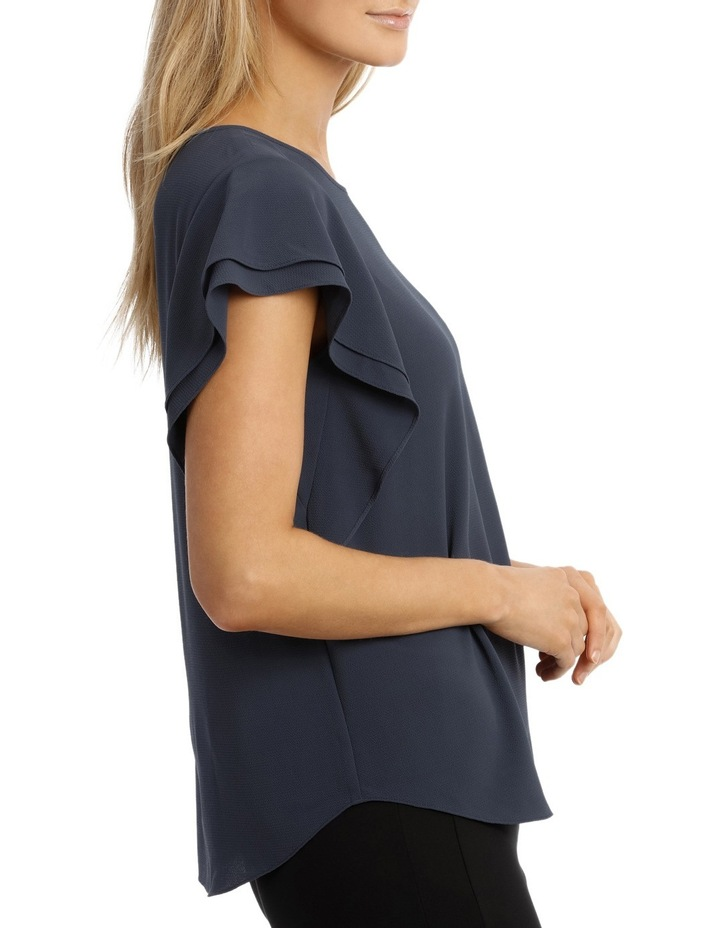 Must Have Double Flutter Sleeve Top image 2