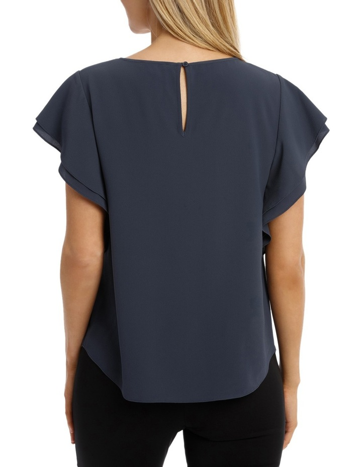 Must Have Double Flutter Sleeve Top image 3