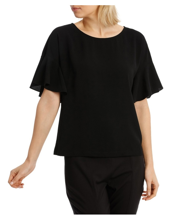 Must Have Flutter Boxy Sleeve Top BS19124 image 1