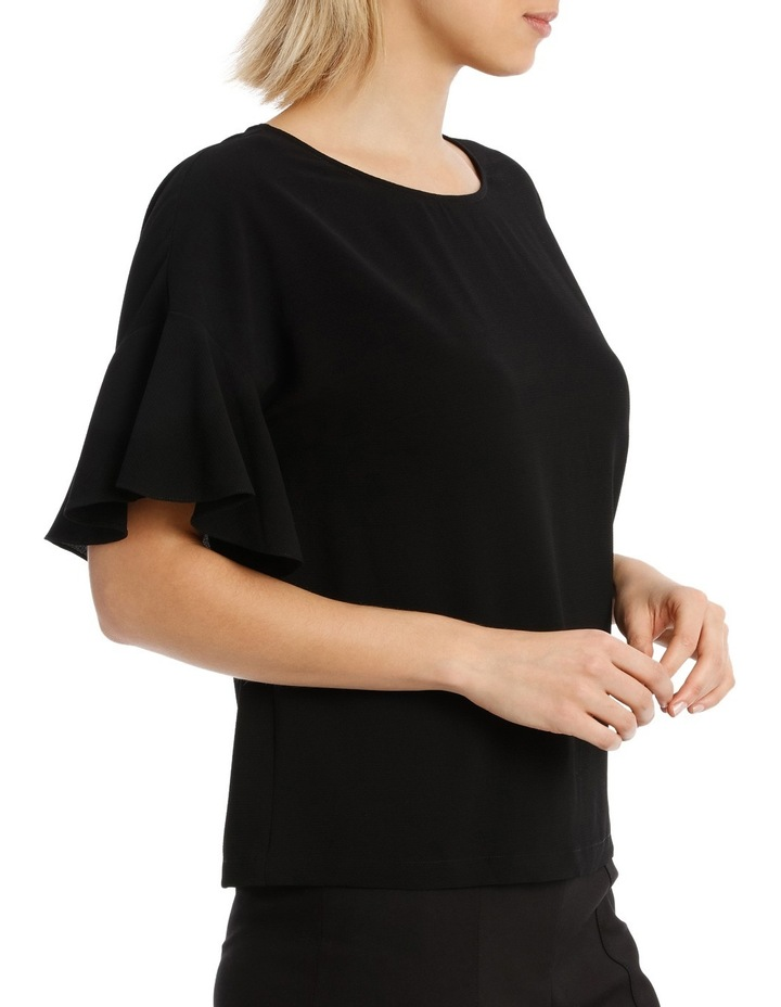Must Have Flutter Boxy Sleeve Top BS19124 image 2