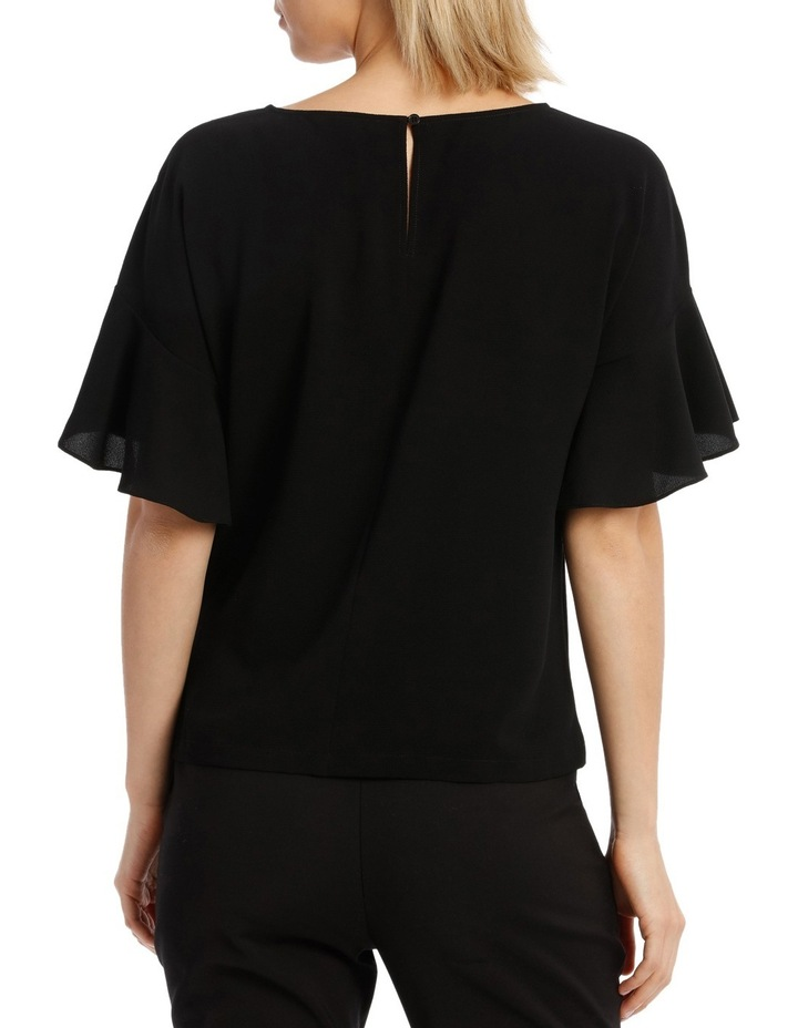 Must Have Flutter Boxy Sleeve Top BS19124 image 3