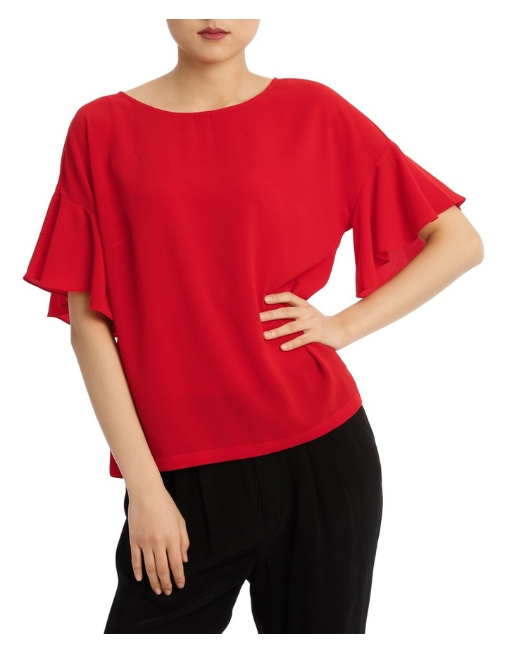 Must Have Flutter Boxy Sleeve Top image 1