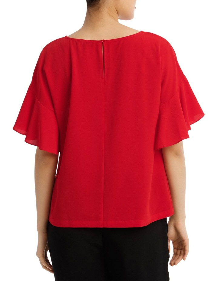Must Have Flutter Boxy Sleeve Top image 3