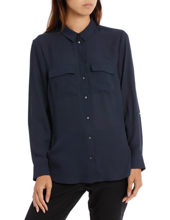 Double Pocket Soft Shirt BW19001 image 1