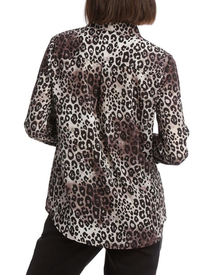 Smudged Animal Double Pocket Shirt image 3