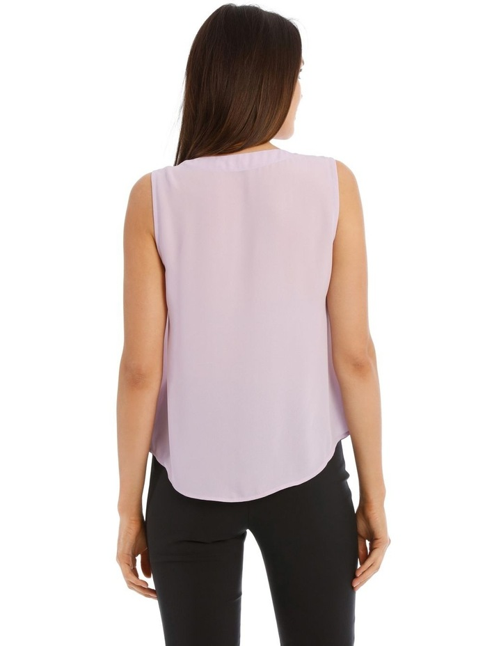 Sleeveless Panel Front Top image 3