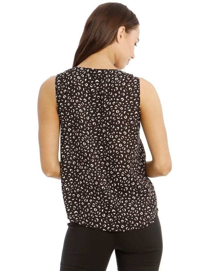 Sleeveless Pannel Front Top image 3