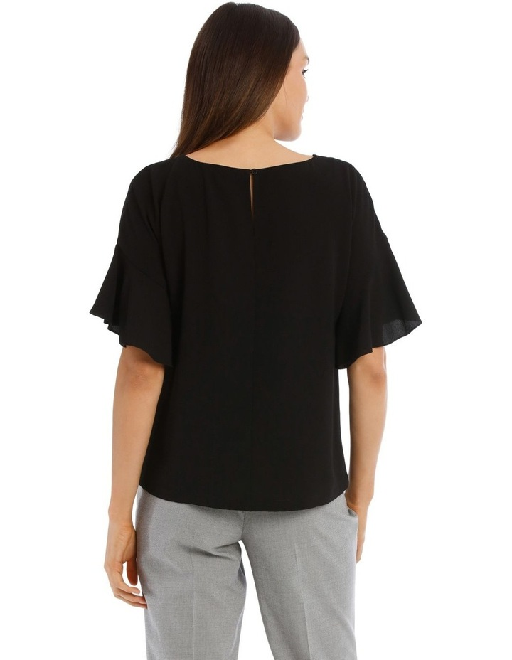 Flutter Sleeve Boxy Top image 3