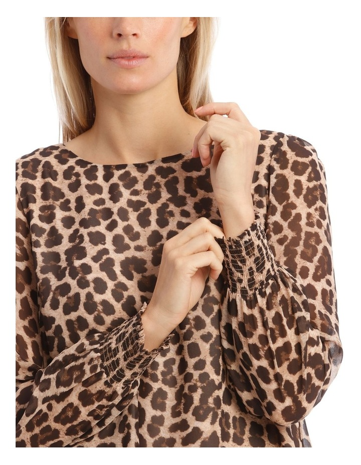 Sheer Sleeve Blouse image 4