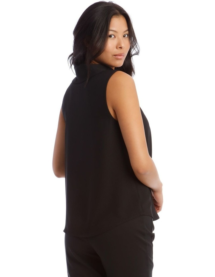 Tie Neck Sleeveless Top image 3