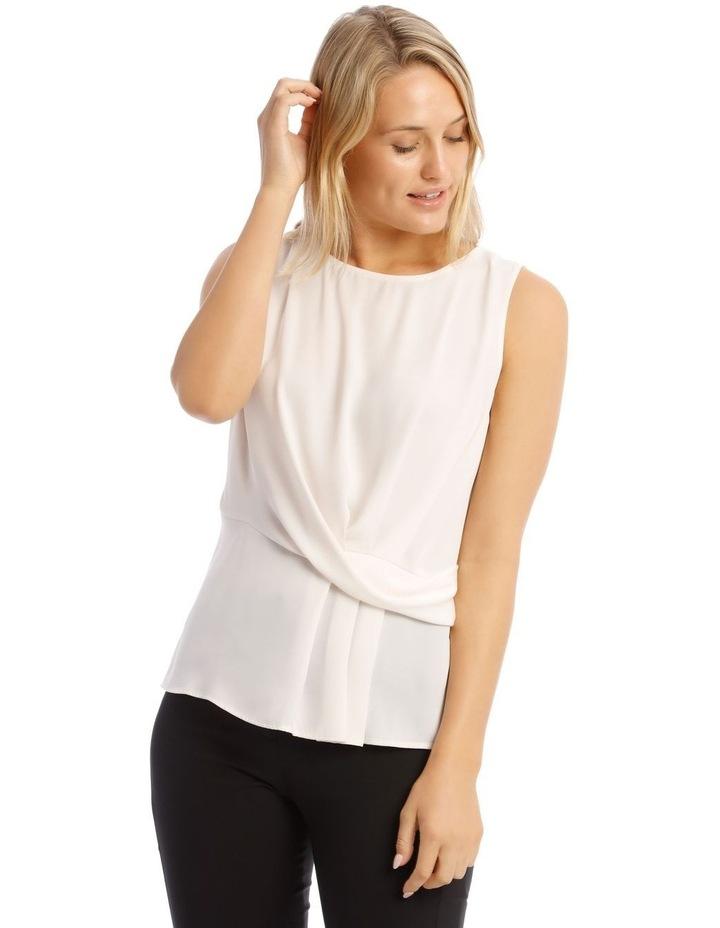 Drape Front Blouse image 1
