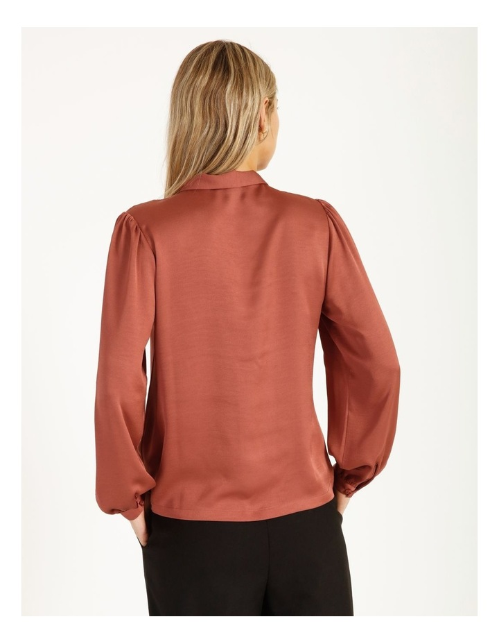Pussy Bow Button Through Blouse image 4