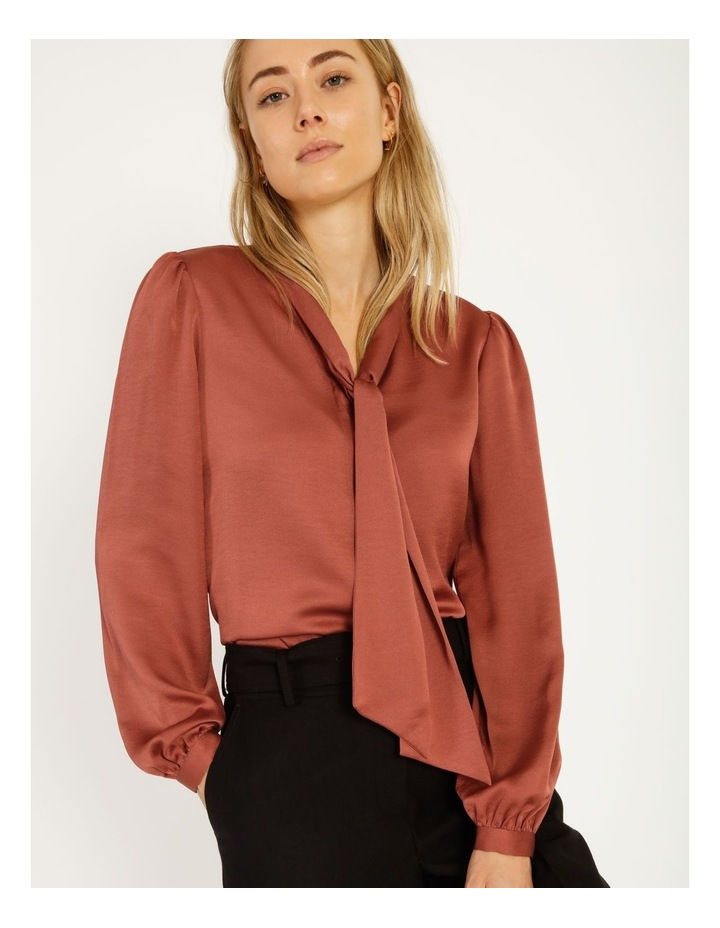 Pussy Bow Button Through Blouse image 5