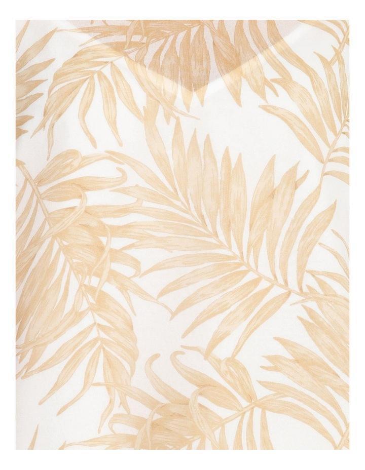 Sheer Flutter Sleeve Top image 5