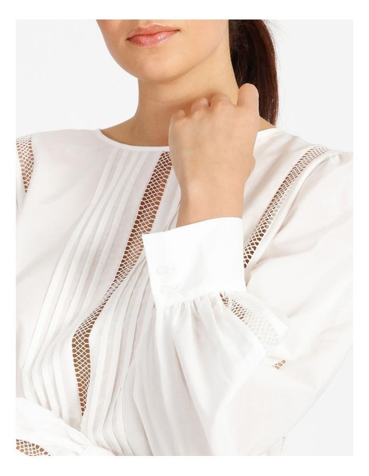 Cotton Silk Trim Blouse image 6