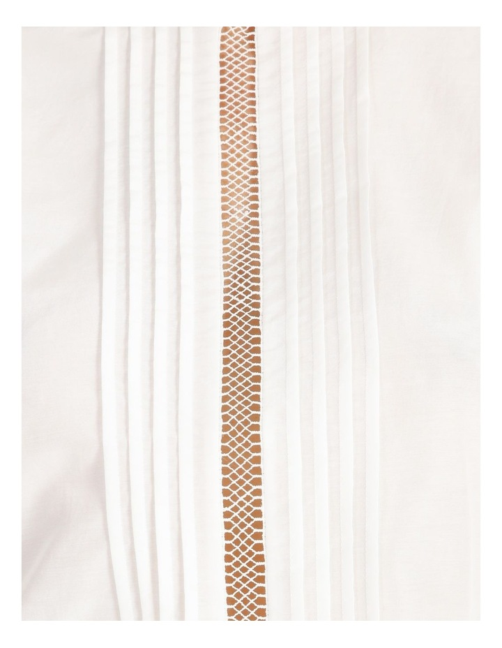 Cotton Silk Trim Blouse image 7