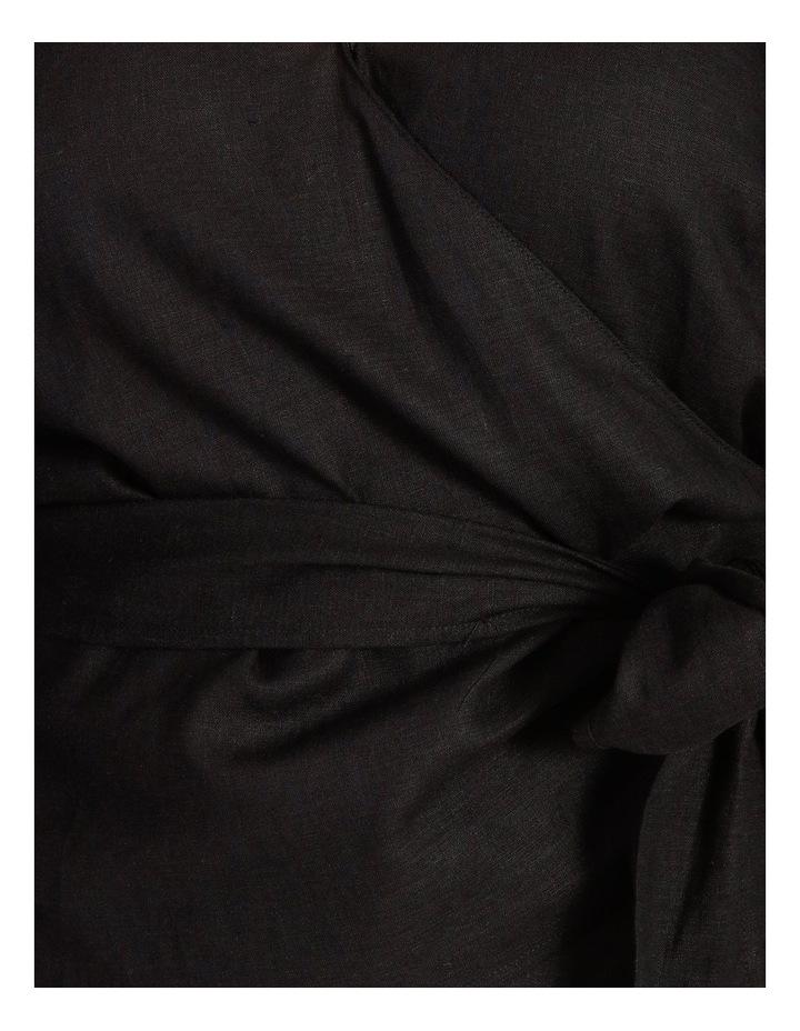 Linen Wrap Top image 7