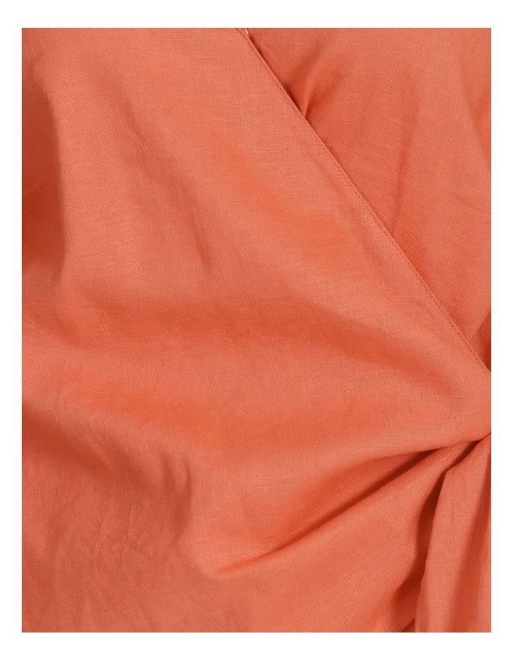 Linen Wrap Top image 6
