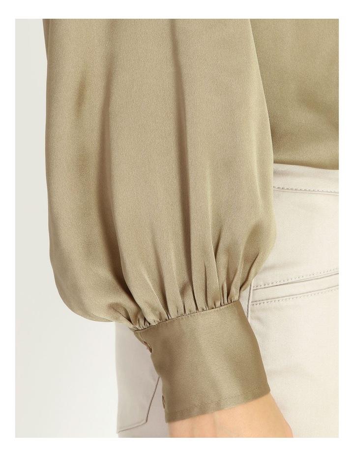 Satin Long Sleeve Blouse image 4
