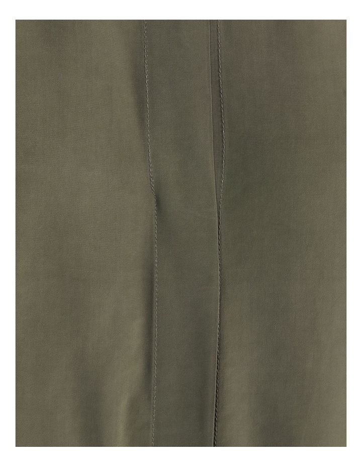 Boxy Grown On Blouse Khaki image 7