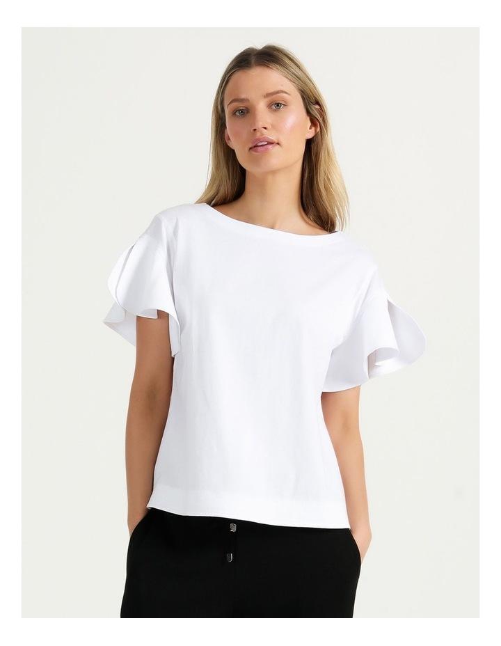 Mercerised Cotton Tee White image 1