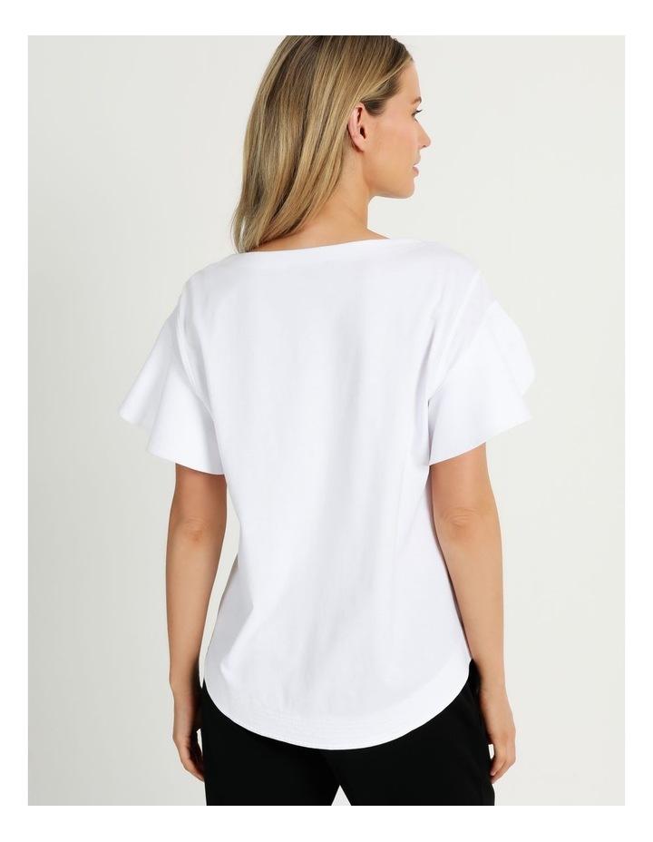 Mercerised Cotton Tee White image 6