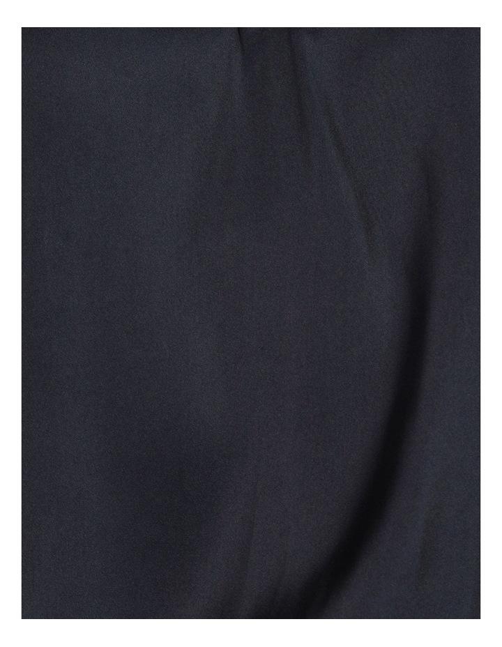 Shirred Shoulder Satin Blouse image 7