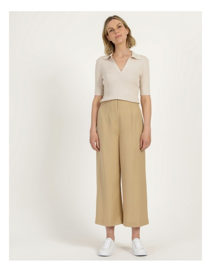 Placket Front Knit Top image 3
