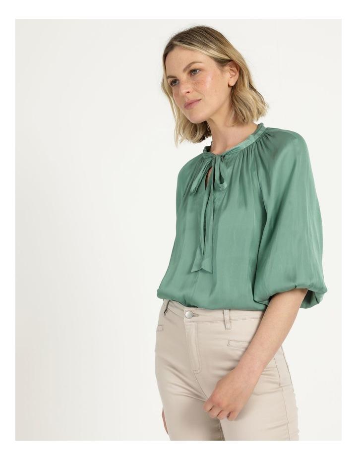 Billow Sleeve Top Mint image 3