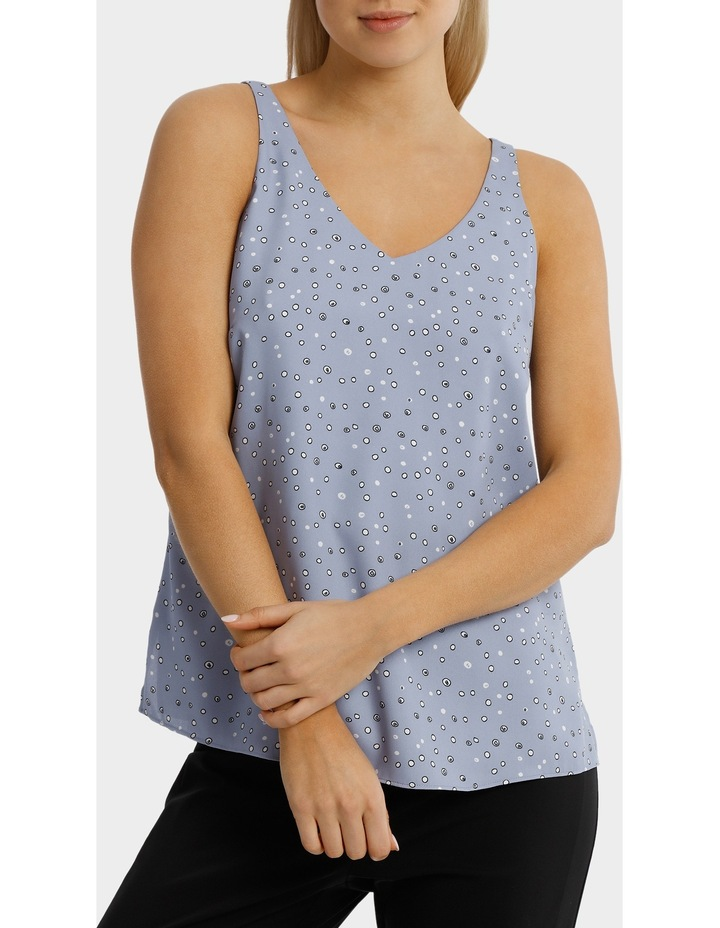Double Layer Woven Cami Print image 1