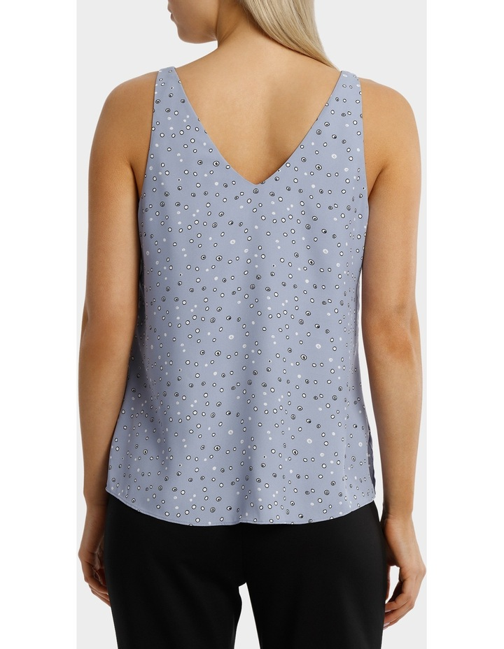 Double Layer Woven Cami Print image 3