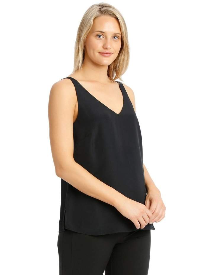 Double Layer Cami Straight Hem image 2