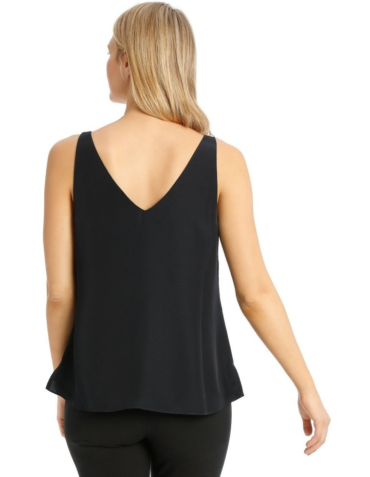 Double Layer Cami Straight Hem image 3