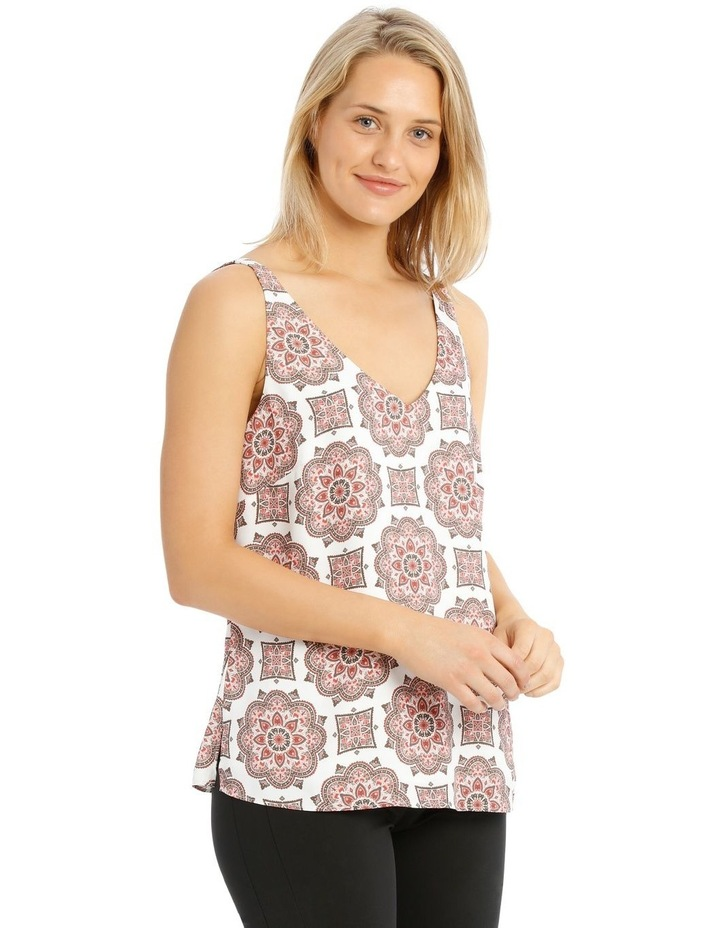 Printed Double Layer Cami image 2