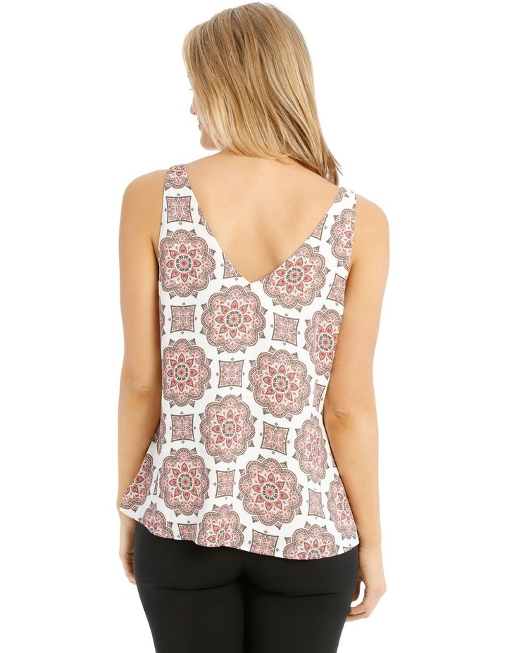 Printed Double Layer Cami image 3