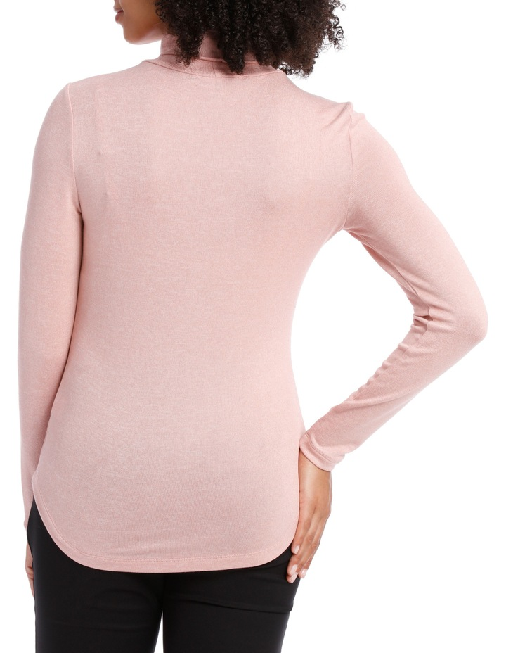 Roll Neck Marle Tee image 3