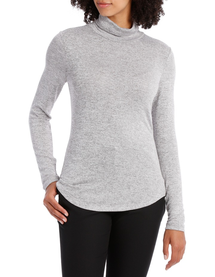 Roll Neck Marle Tee image 1