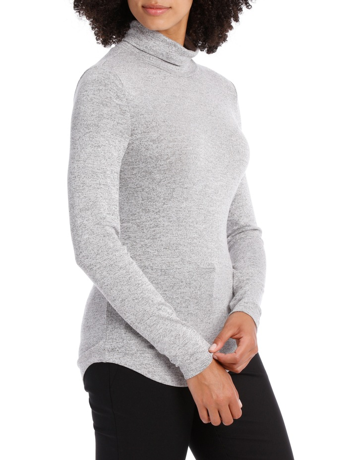 Roll Neck Marle Tee image 2