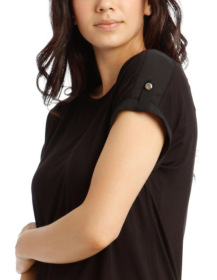 Jersey Button Short Sleeve T-Shirt image 4